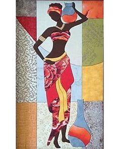 African Drawings, African Art Paintings, African Girl, African American Art, Arte Tribal, Tribal Art, Afrique Art, Art Africain, Black Women Art
