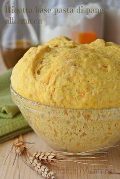 Ricetta base pasta di pane alla zucca | Status mamma
