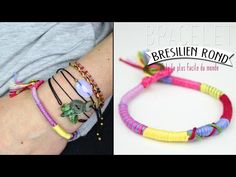 DIY : Le bracelet brésilien rond, le tuto le plus simple du monde !             |              DIY | Do it yourself | By Isnata