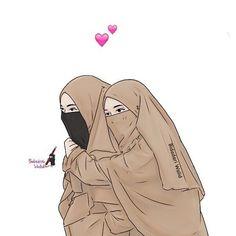 Read SAHABAT from the story Gambar muslimah by susiyanadesu (susi yana) with reads. Cartoon Girl Images, Girl Cartoon, Cartoon Art, Arab Girls Hijab, Muslim Girls, Bff Pictures, Best Friend Pictures, Hijab Drawing, Image Citation