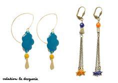 L'hiver, on aime mettre de la couleur sur nos bijoux, comme sur ces B.O !! #ladroguerie #bijou #bo