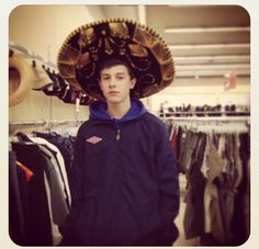 Shawn Mendes in a sombrero :p