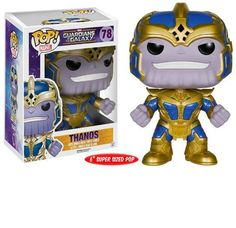 Buy Marvel Guardians of the Galaxy Thanos 6 Inch Funko Pop! Vinyl from Pop In A Box US, the Funko Pop Vinyl shop and home of pop subscriptions. Funk Pop, Pop Vinyl Figures, Pop Action Figures, Funko Pop Marvel, Funko Pop Toys, Funko Pop Vinyl, Pop Disney, Disney Parks, Guardians Of The Galaxy