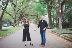 Houston Engagement Session: Sidney + Matthew — Kelly Costello Photography