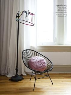 Iza's bedroom from Issue 23 (June 2012) of Covet Garden magazine. Photographed by Ashley Capp. #CovetGarden #Chairs