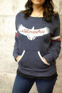 Milwaukee Off the Shoulder Sweatshirt - Sparrow Collective