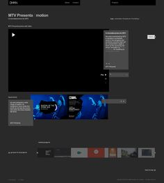 DHNN - The new 2011 website full story by Design Has No Name , via Behance