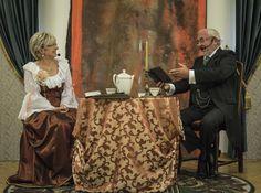 W salonie hrabiny Laury | Centrum Kultury Śląskiej w Nakle Śląskim