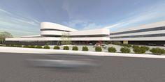 Hotel bauen in moderner Architektur mit FLOW. Harmonischer Komplex mit Boardinghouse-Konzept.