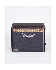 Puf amplificador negro WOOUFALL