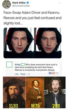 That's why he's the chosen one