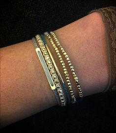 shyly dainty cotton macrame friendship bracelet by piecesandchloe. $22.00, via Etsy.