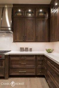 Walnut Kitchen Cabinet Ideas Design
