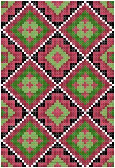 Bunad, Smykker, vev & rosemaling: Bunad Tapestry Crochet Patterns, Lace Patterns, Knitting Patterns, Peyote Patterns, Cross Stitch Patterns, Mochila Crochet, Beaded Cross Stitch, Crochet Purses, Crochet Chart