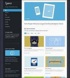 spark-portfolio-wordpress-theme    Wordpressloft.com