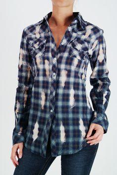 distressed plaid shirts....adorable!