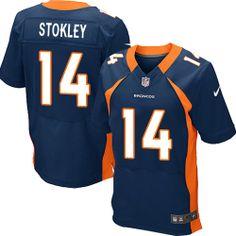 ebf677084 NFL Denver Broncos  14 Brandon Stokley Elite Blue Men Jersey Nfl Denver  Broncos