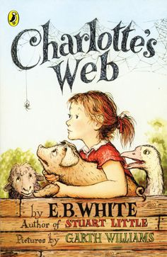 Charlotte's Web, by E.B. White. This was one of my favorite books as a child, and I started reading it aloud to my kids when they were about four years old. They loved it, and I discovered that it's short enough to read to them in just a few days. The only problem is that every time, I wind up a sobbing mess at the end!