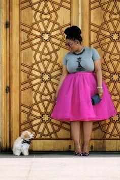 Plus Size Fashion: Style Chic 360 Plus Size Tutu, Plus Size Outfits, Mode Outfits, Fashion Outfits, Tutu Outfits, Fashion Skirts, Flattering Plus Size Dresses, Xl Mode, Divas