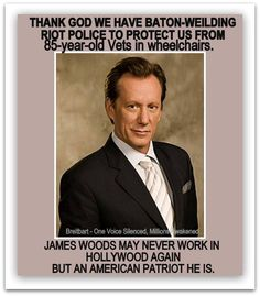 Thank you Mr. James Woods!