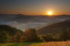 sunrise | Beskid Sadecki
