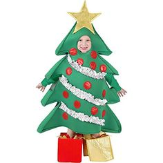 christmas costumes tree Our Childs Christmas Tree Costume is a great Childs Christmas Costume. For a larger size Christmas Tree outfit consider our entire selection of Christmas Tree Christmas Tree Halloween Costume, Christmas Tree Outfit, Christmas Trees For Kids, Halloween Costume Contest, Toddler Christmas, Christmas Costumes, Christmas Fashion, Costume Ideas, Xmas Trees