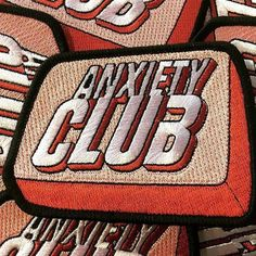 #Repost @pinlife  'Anxiety Club' patches hot off the press! These came out great! They include a hemmed edge (perfect for sewing onto your favourite hat/jacket/bag) they also have an iron on backing! head to www.pinlife.co.uk and pick one up!     #pins #pinstagram #enamelpins #enamelpin #lapelpins #lapelpin #pingame #patchgame #patch #pin #koolfade #hypebeast #supremenyc #pinlife #skateboard #staywheezy #cat #pins #pizza #buddha #fightclub #toy #design #competition #pingameproper #pinlife…