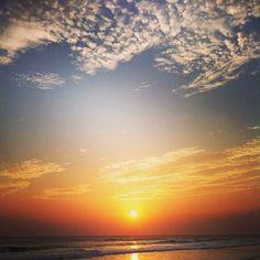 Our first Nica sunset #eidon #eidonsurf #sun #sunset #nica2013 #nicaragua #sky #relaxing #orange #clouds
