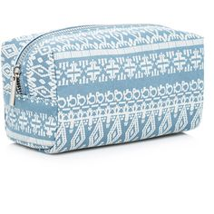 Forever 21 Southwestern Print Makeup Bag ($6.90) ❤ liked on Polyvore featuring beauty products, beauty accessories, bags & cases, accessories, travel toiletry case, make up bag, travel toiletry bag, travel toiletry kit and toiletry kits