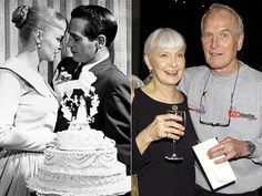 Paul Newman and Joanne Woodward married in 1958. 50 years and 9 months of marriage only separated by his death.