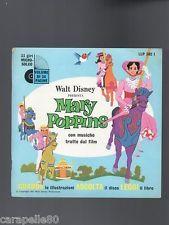 WALT DISNEY PRESENTA MARY POPPINS libro + vinile