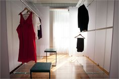walk in wardrobe with invisible wirings #wardrobe #closet
