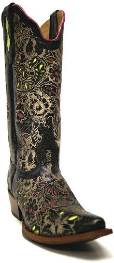 Women S Purple Western Boots Corral Women S Cowboy