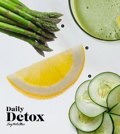 Juicing recipe Daily Detox