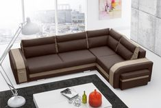 Assan, Corner Sofa Bed with Storage and Sofa Bed Function/Couch Sofa