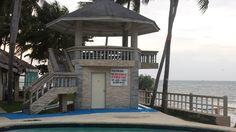 Vorne in Strandnähe werde ich mir so einen kleinen Pavilion hin bauen damit man abends auch mal in Ruhe den Wind geniessen kann
