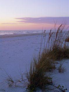 Sunset, Bradenton Beach, Anna Maria Island, Gulf Coast, Florida, USA