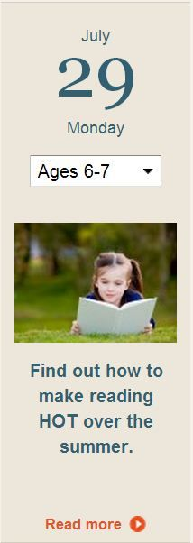 Make reading a priority for your child over the summer months. Click for ideas.