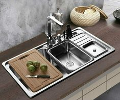 Cheap stainless steel sink, Buy Quality steel sink directly from China kitchen wash basin Suppliers: China Kitchen, Basin Sink, Stainless Steel Sinks, Kitchen Fixtures, Multifunctional, Dining, Interior Design, Dark Makeup, Slot