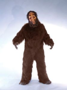 2 Sinister New Takes on Old Halloween Costumes - //.preciousmonsters & Bigfoot Mascot Costume: This full-body Bigfoot suit is made of ...