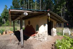 This little garden shed was built at the Community Garden Centre on Mayne Island