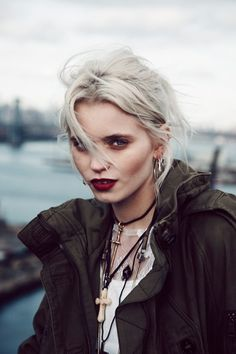 Outtake from American Vogue with Abbey Lee Kershaw    Photographer: Beau Grealy