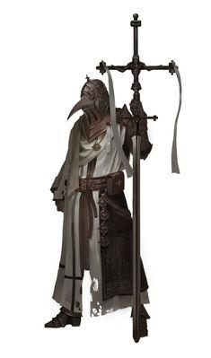 ArtStation - plague knight, J JP