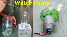 How to Make an Electric Water Pump from bottle - Easy Way