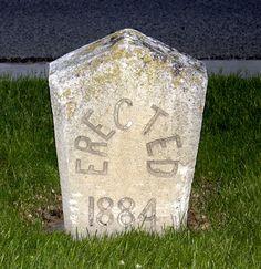 Erected in 1884.  US 89 (main street)  Brigham City Utah