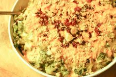 Perfect for a holiday potluck—Broccoli Bacon Casserole from @Diddles & Dumplings - Devi McDonald! #HolidayHelper