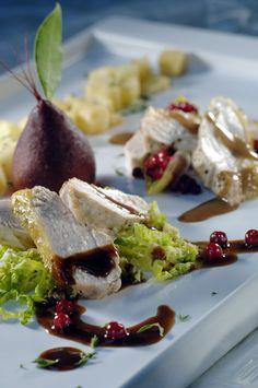 Recepten - Duo van fazant met trappist Seafood Recipes, Dinner Recipes, Dutch Kitchen, Surf And Turf, Tasty, Yummy Food, Food Art, Food Inspiration, Delish