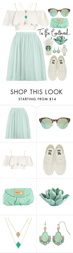 """To be continued..."" by goycotwo ❤ liked on Polyvore featuring MANGO, Topshop, Vans, Marc by Marc Jacobs, HomArt, Karen Kane, LC Lauren Conrad, Kate Spade, outfit and vans"
