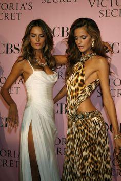 Alessandra Ambrosio and other Victoria's Secret model.