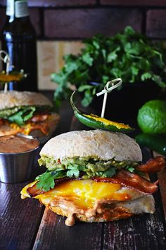 This tequila lime chicken sandwich looks too good to pass up!